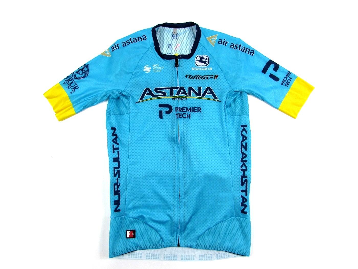 Веломайка Giordana Astana Pro Team Lite Jersey 2020