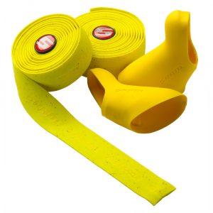 Обмотка руля Sram Super Cork Bar Tape with Hoods Yellow