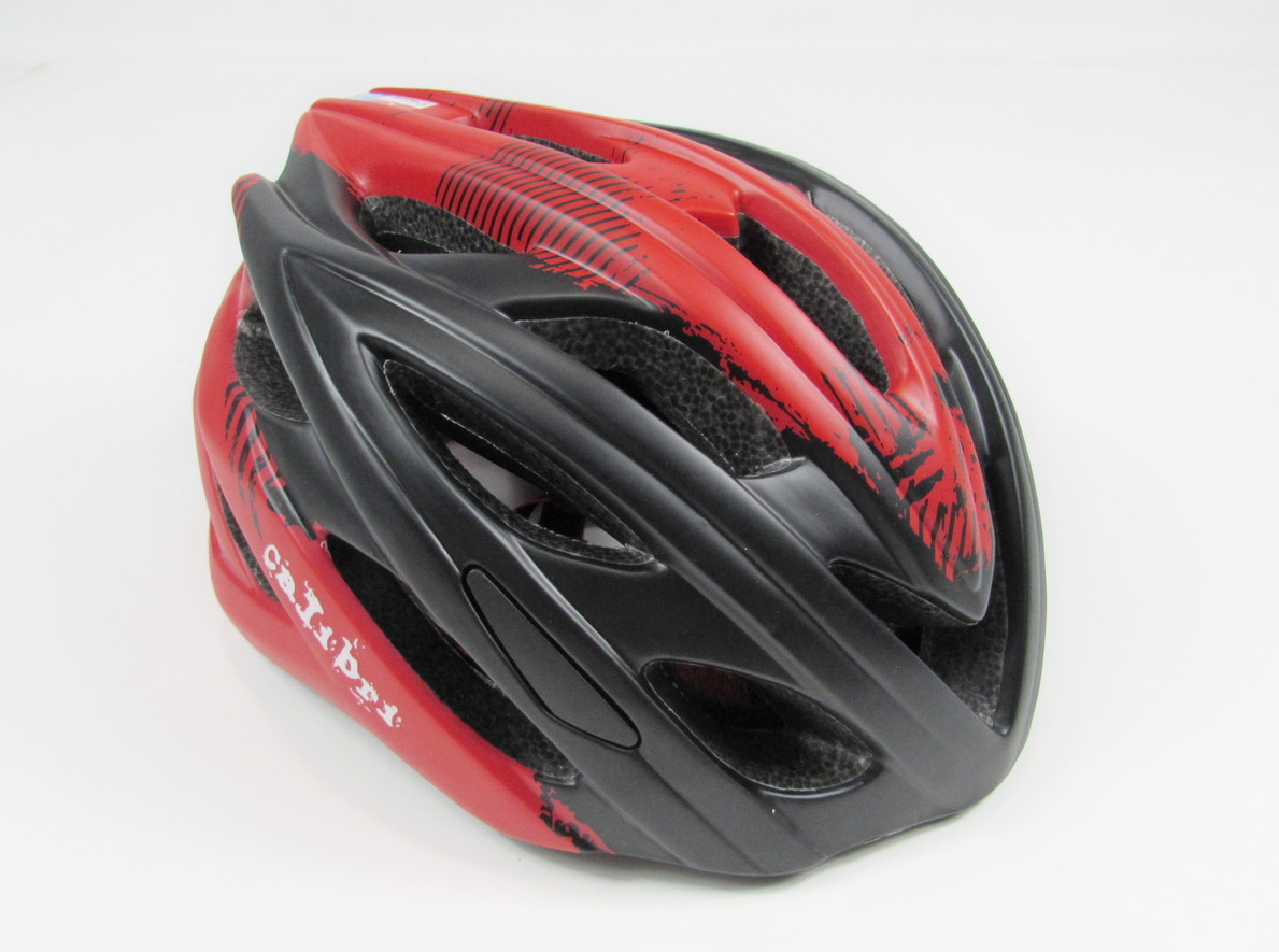 Calibri Helmet Black Red 2