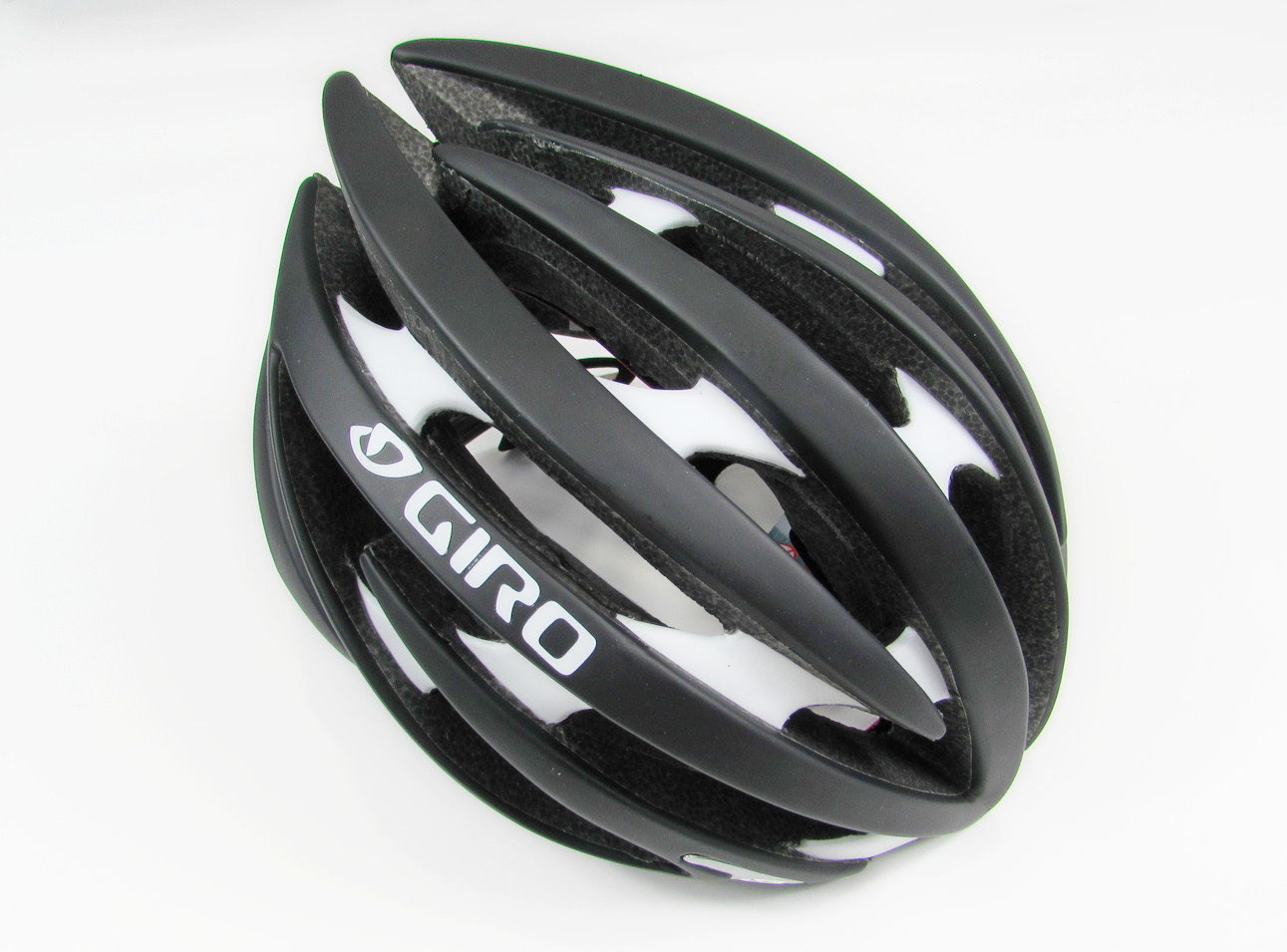 Giro Aeon Cycling Helmet, size М, Black-White 2
