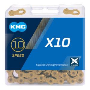 Цепь KMC X10 10sp Gold