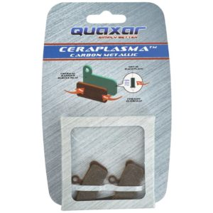 Quaxar AXU1045 Carbon-Metallic Disc Brake Pads Avid Elixir Trail