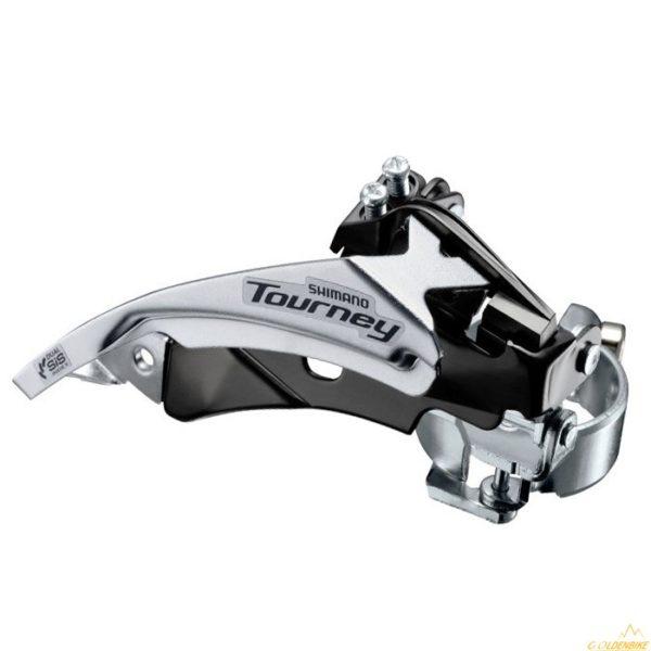 Переключатель передний Shimano Tourney FD-TY500-TS6 3×7/6sp
