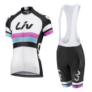 Комплект велосипедной формы Giant Liv. size XS White