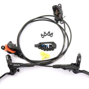 Тормоза Shimano SLX BR-M7000 Disc Brakes Metal Ice-Tech Pads (перед+зад)