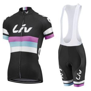 Комплект велосипедной формы Giant Liv. size S/M Black