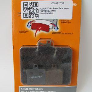 Alligator Hope Technology 2 Mini SemiMetallic Disc Brake Pads