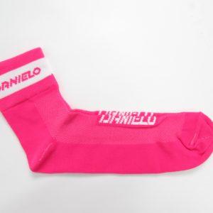 Danielo Professional Cycling Socks pink size 43-44 (L)