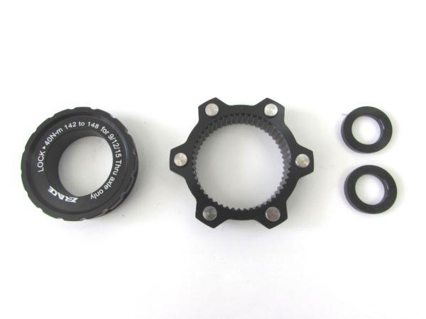 Адаптер ZRace 142mm CenterLock → 148mm Boost 6 bolts