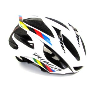 Шлем Specialized S-Works Prevail, size M, White with World Champion Strips