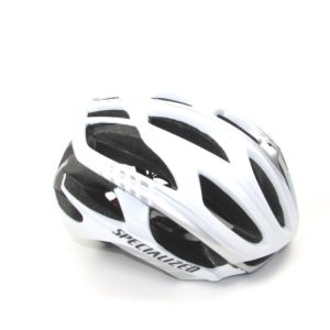 Шлем Specialized S-Works Prevail, size M, White with Silver Strips