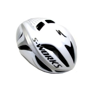 Шлем Specialized S-Works Evade size S/M  White with Silver Strips