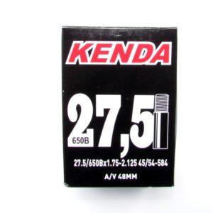 Камера Kenda 27.5/650B×1.75-2.125 45/54-584 AV 48 mm