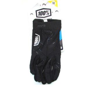 100% MTB Gloves black/white size M
