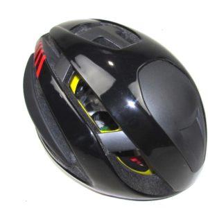 Шлем Zero RH+ Z ALPHA MIPS Black/ Red Strips size S-M(54-58) L-XL(58-62)