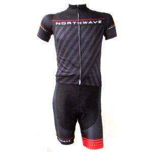Комплект велосипедной формы North Wave Black. Size M