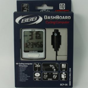 Велокомпьютер BBB BCP-06 DashBoard Wired 10F white