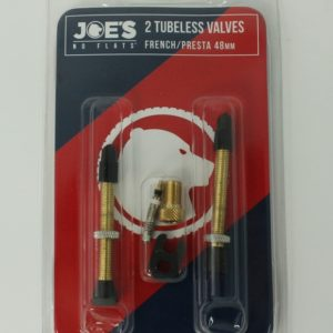 Ниппели Joe's No-Flats 48mm Presta Valve (комплект)