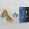 Наконечники тормозных рубашек XLC Open Ferrule Ø 5mm gold (10 шт.)