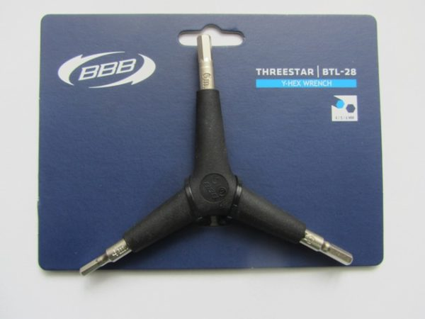 BBB ThreeStar BTL-28 Y-Hex Wrench