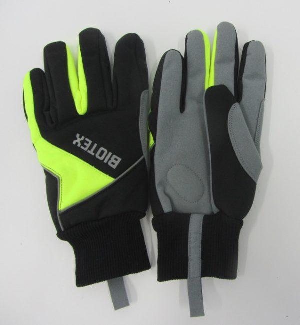 Biotex Warm Gloves black/neon yellow size M