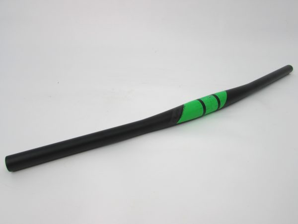 Руль б/у Cube FRB Handlebar green 660mm, 31.8mm