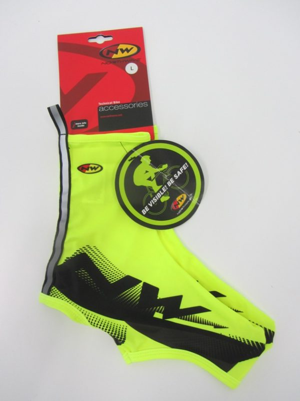 Northwave Extreme Shoecover yellow fluo L