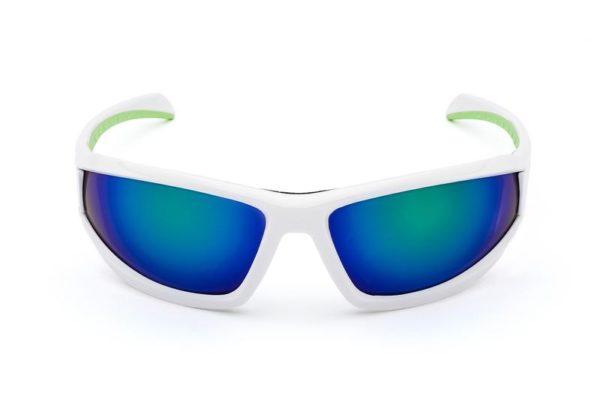 Очки MORR Marrconi Z75 Mirrored Sport Sunglasses white-green