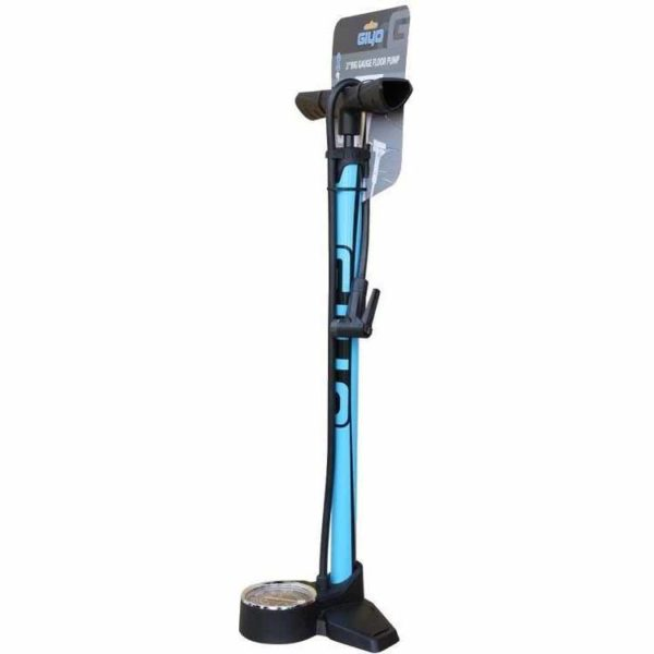 Насос напольный Giyo GF-2530 3″ Big Gauge Floor Pump blue