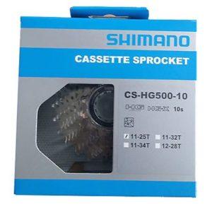 Кассета Shimano Tiagra CS-HG500-10 11-25T 10sp