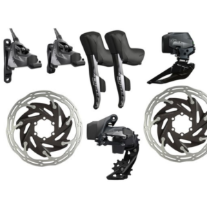 Групсет SRAM Force eTap AXS 2×12-speed HRD Elektronic Kit FlatMount