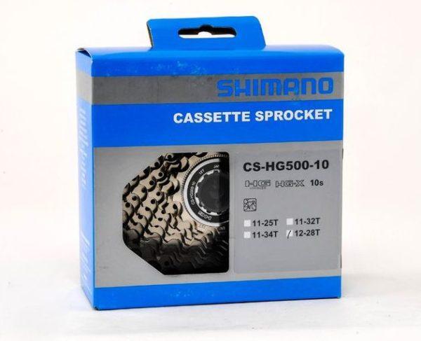 Кассета Shimano Tiagra CS-HG500-10 12-28T 10sp