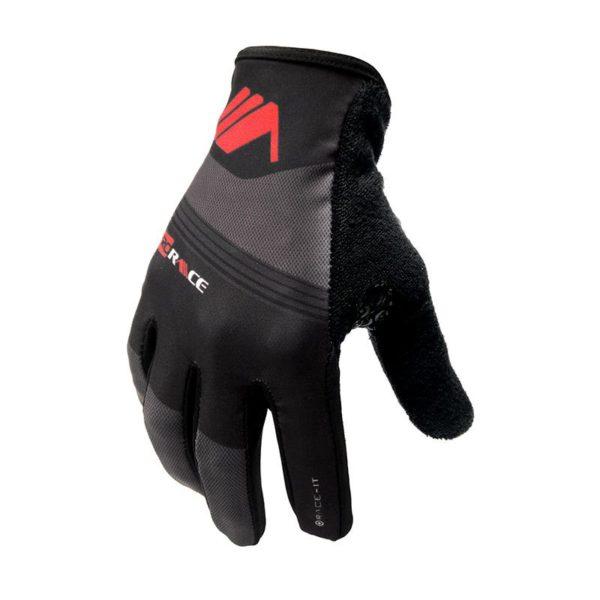 Monty ProRace Gloves black/grey size XS