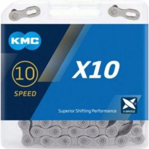 Цепь KMC X10 10sp Silver